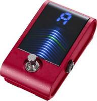 Korg Pitchblack Custom Chromatic Guitar and Bass Pedal Tuner Red NEW