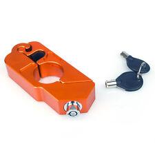 Bremshebelschloß Schloß Sicherung für Bremshebel in orange Racefoxx