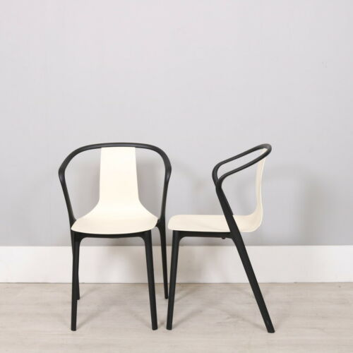 Vitra Bouroullec Belleville side chairs x 2
