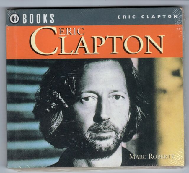 ERIC CLAPTON ILLUSTRATED CD BOOK FROM MUSIC BOOK SERVICES