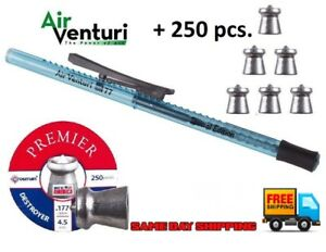 Air-Venturi-177cal-Pellet-Pen-Crosman-Destroyer-7-4-gr-Pointed-Pellets-250ct