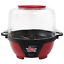 Electric Popcorn Popper Machine with Stirring Rod and Large Lid for Serving Bowl