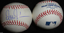 OZZIE GUILLEN SIGNED BASEBALL OMLB FLORIDA MIAMI MARLINS AUTOGRAPH WHITE SOX S1