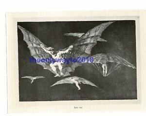 Los-Proverbios-Disparates-Francisco-Goya-Book-Illustration-Print-1963