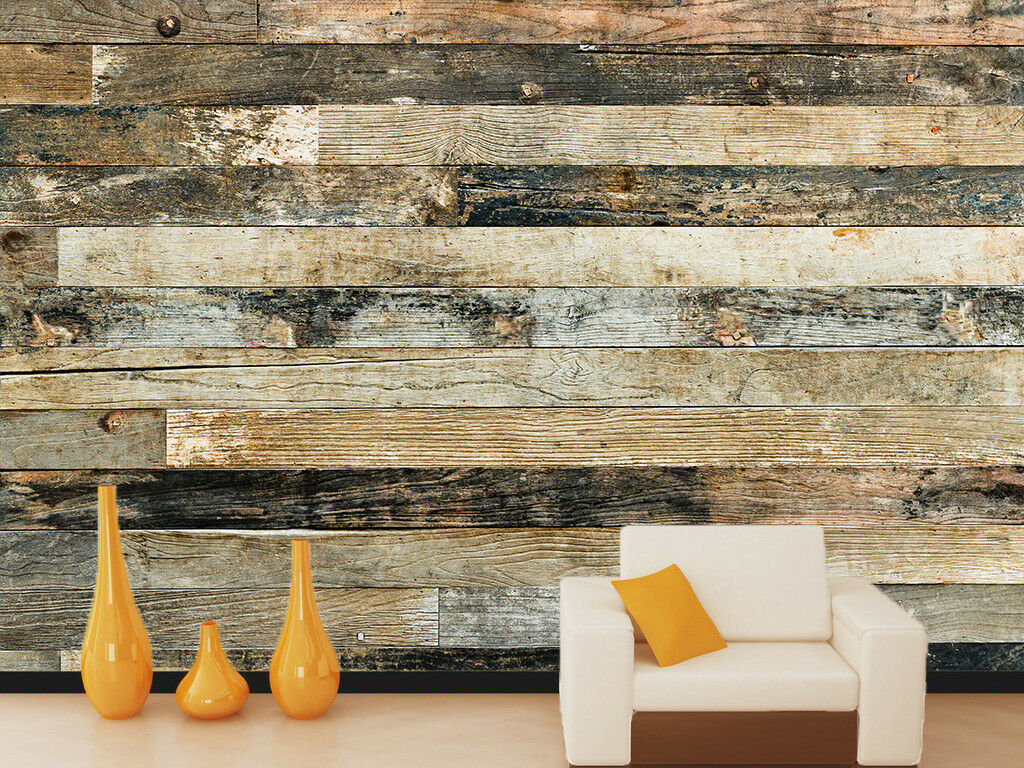 3D Stripe Wood Texture 559 Wall Paper Wall Print Decal Deco Indoor Wall Mural CA