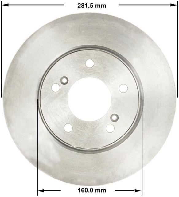Disc Brake Rotor-Premium Brake Rotor Front Bendix PRT1769