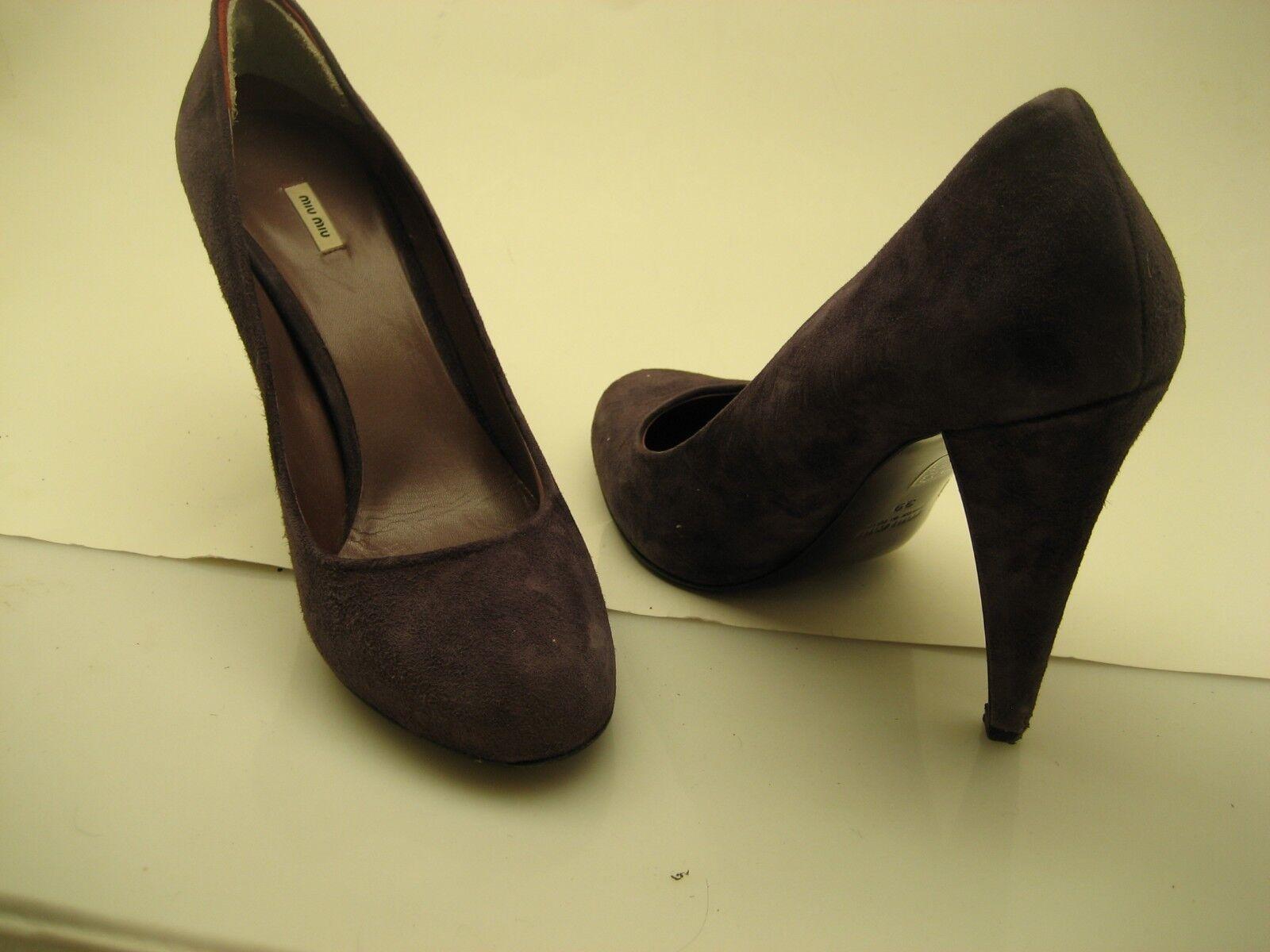 fantastica qualità donna Miu Miu heels made in    Dimensione 39 Lavender slipon  la migliore moda