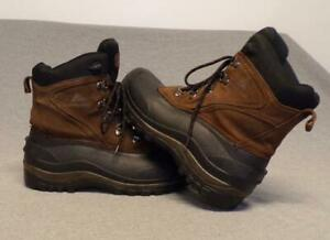 Ozark CA8824 Suede Leather Insulated Wet Weather Hiking boots men's size 9D