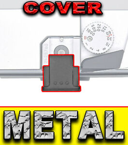 HOT SHOE FLASH COVER METAL adatto a PANASONIC G100 G95 G90 G7 GX8 GX7 LX100 G9