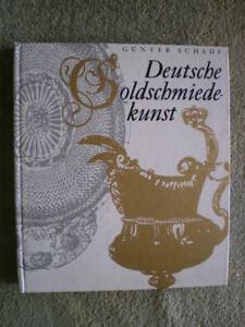 Deutsche Goldschmiedekunst Ddr Buch Gold Silber Goldschmied Vergolden Edelmetall