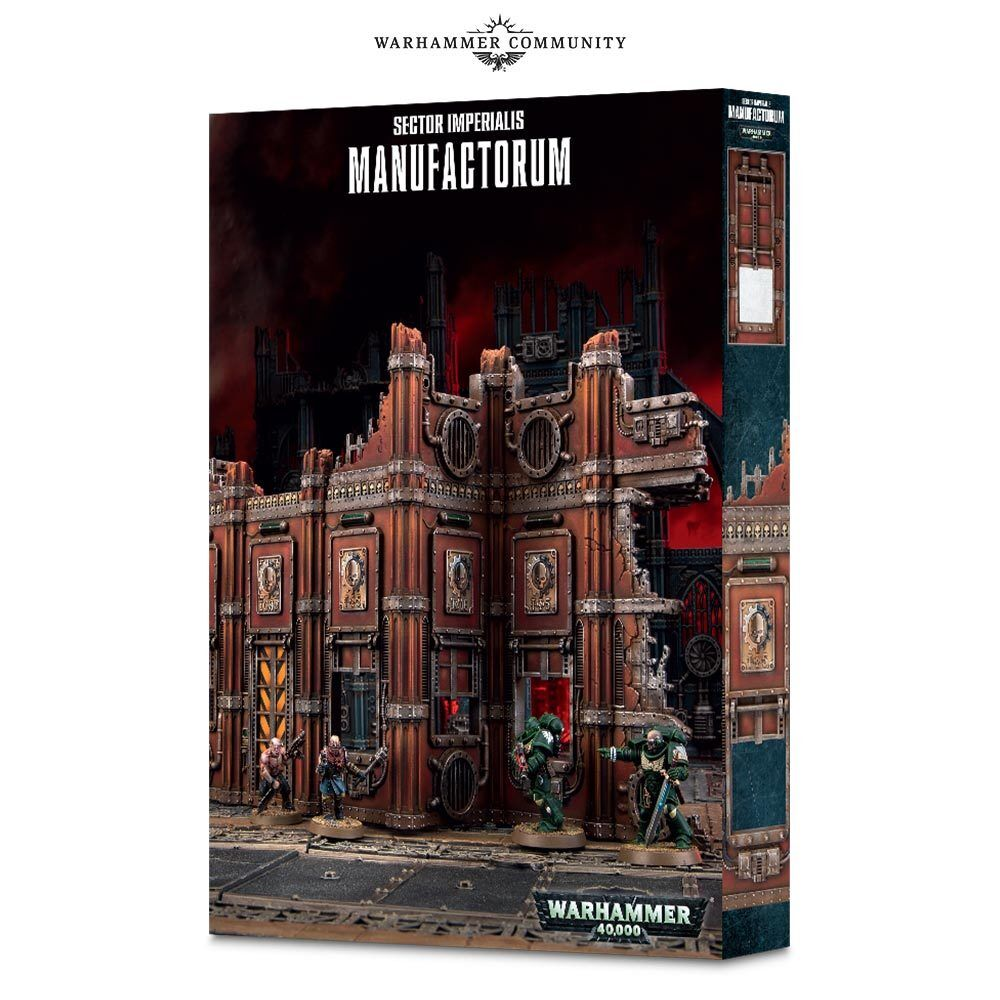 Sector Imperialis  Manufactorum 40k Games Workshop 20% off UK rrp
