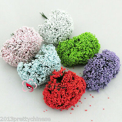 "FC13-144 ""Baby's Breath"" Flowers Craft Embellishments Scrapbooking Wedding"