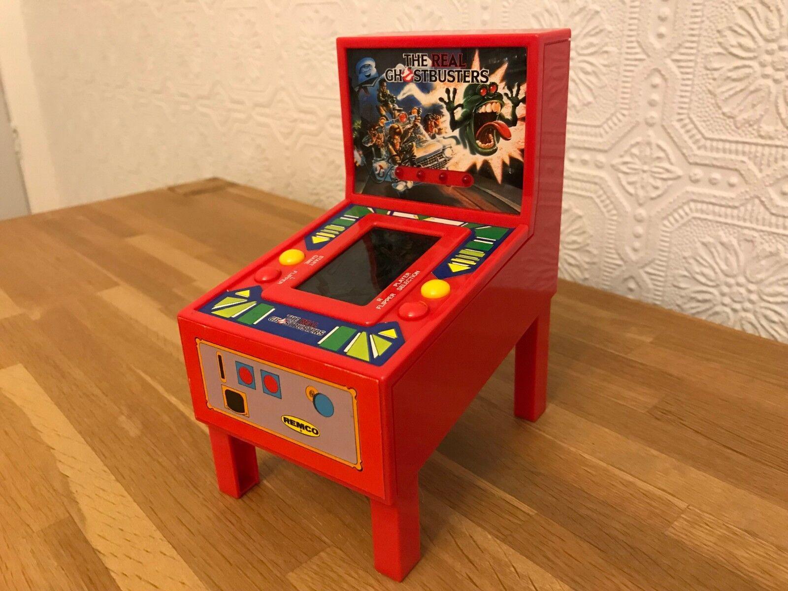 Ultra Raro Remco Ghostbusters 1989 Vintage LCD portátil juego electrónico Nr Menta.
