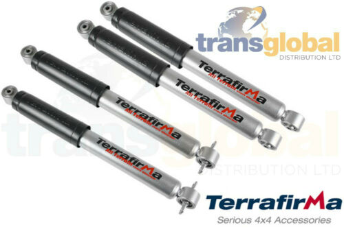 Terrafirma Land Rover Discovery 2 Front /& Rear All Terrain Shock Absorbers