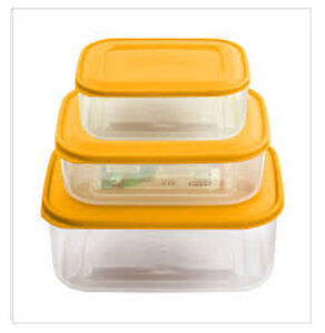 Pack Of 3 1 2 Amp 3 Litre Sandwich Lunch Food Storage Box