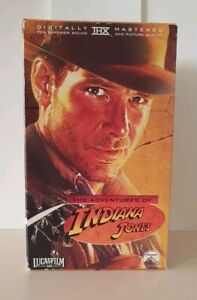 Indiana-Jones-Complete-Adventure-In-3-VHS-Tapes-Original-Trilogy-By-Lucasfilm