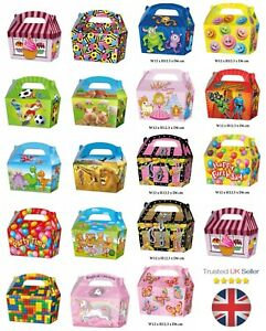 10-x-Treat-Boxes-Cupcake-Gift-Party-Loot-Bag-Wedding-Children-Birthday-Kids-ML