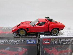 Takara Tomy Tomica Premium 05 Lamborghini Miura Jota Svr 1 61 Ebay