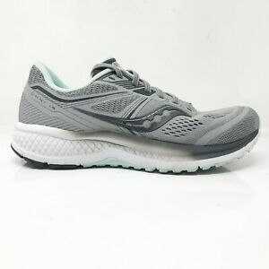 Saucony-Womens-Omni-19-S10570-30-Gray-Running-Shoes-Lace-Up-Low-Top-Size-7-5