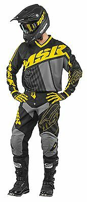 MSR Axxis Cyan//White//Royal Jersey /& Pant Combo Set Motocross M17 Off Road Gear
