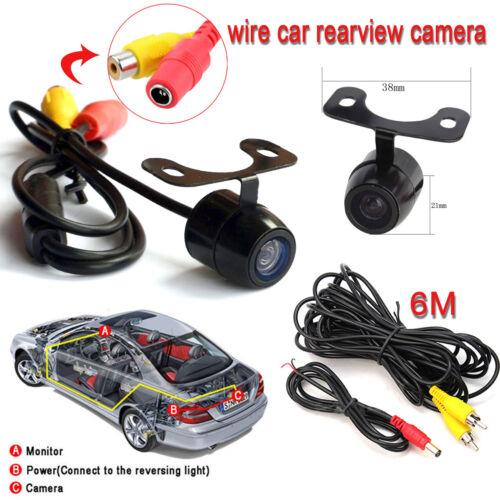 170° Reverse Car Rear View Backup Camera Night Vision Parking CMOS HD DC 12V