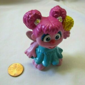 Details About Sesame Street Plastic Abby Cadabby 2 5 Cake Topper Figure Toy Pvc