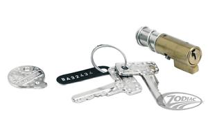 Harley Davidson Steering Lock Models Old Push And Turn