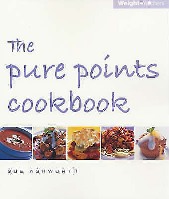 """""""AS NEW"""" Ashworth, Sue, Weight Watchers: The Pure Points Cookbook Book"""