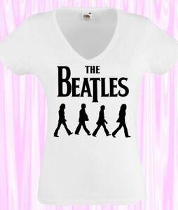 beatles t shirt damen