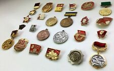 Pins collectible Badges vintage Pinbacks enamel Pin military Russian set WW USSR