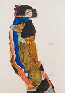 Moa-by-Egon-Schiele-art-print-on-230gsm-photo-paper-choose-size