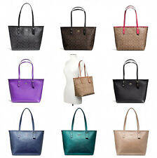 Coach F58292 F58846 City Zip Tote Outlet Exclusive Handbag New With Tags