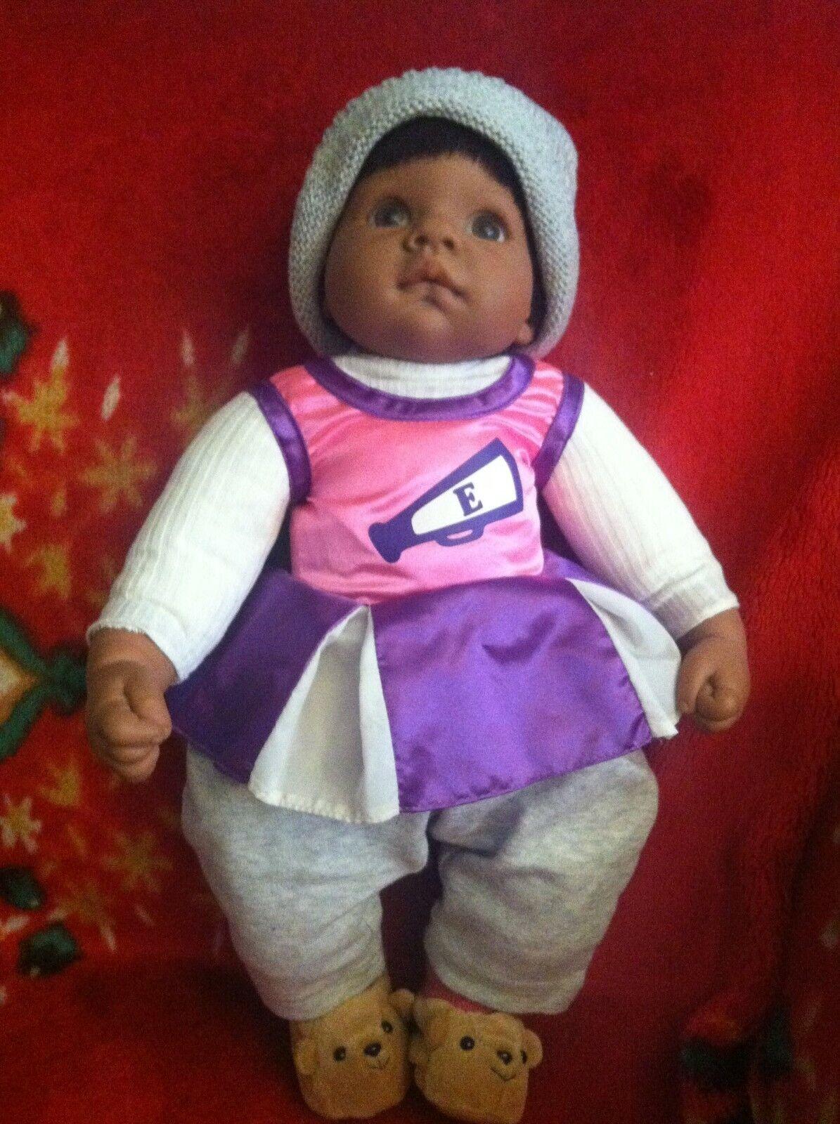 Vintage Lee Middleton  Original Dolls 1998  Lifelike Doll By Reva braun skin