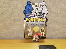 Toynami Robotech I-Men Collection VF-1A and Ben Dixon figures, Brand New!