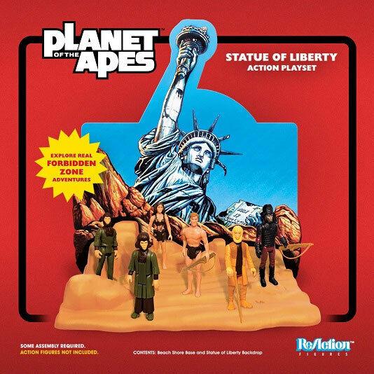 Planet of the Apes Statue of Liberty Playset for Reazione  cifras 03PSU08  servizio premuroso