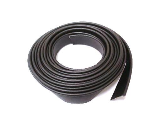 """Street Rod Black Crushed Grain Vinyl Fender Welt Welting Kit 25 feet 3//16/"""" Bead"""