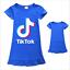 Kids-Girls-Tik-Tok-Nightdress-Short-Sleeve-Nightie-Skirt-Sleepwear-Nightwear-Top thumbnail 7