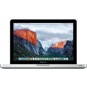 "Apple MacBook Pro 13"" Pre Retina 2.5Ghz 4GB 500GB Free Delivery * WARRANTY"