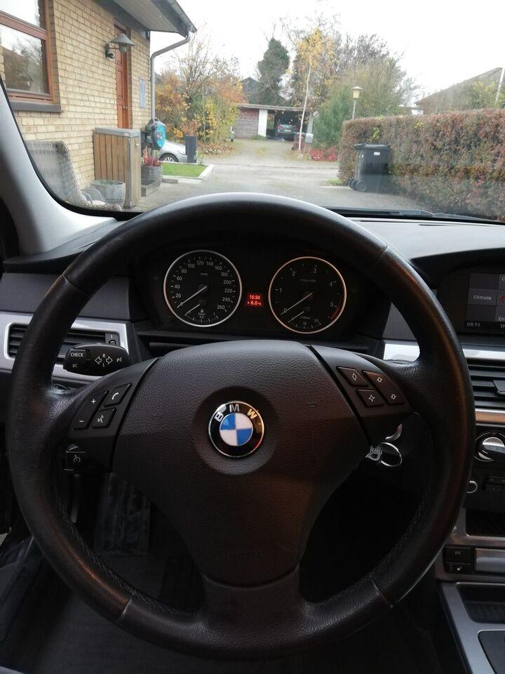 BMW 525d, 3,0 Touring Steptr., Diesel