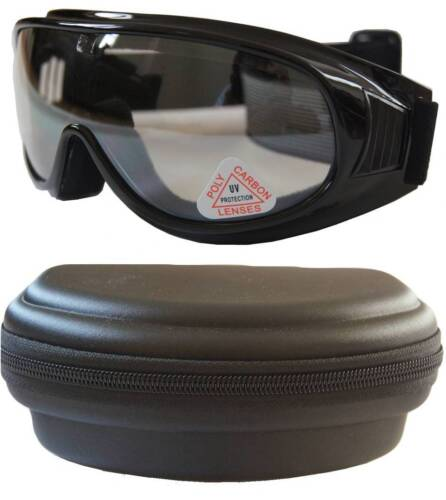 Andevan™ Ski,Motors Goggle cover / wear over Rx glasses with case