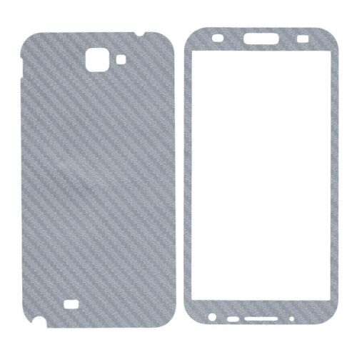 Sticker autocollant aspect carbone 3D skin pour Samsung Galaxy Note 2