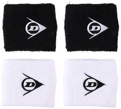 2Pc Dunlop Sports Wrist Sweat Wristband Sweatband Unisex Party Cycling Gym 1size