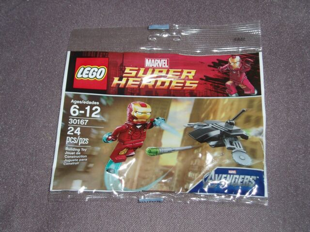 Man Super Ironman Lego Heroes Vs Marvel Fighting Drone Avengers Iron 2013 30167 FKJTl1c