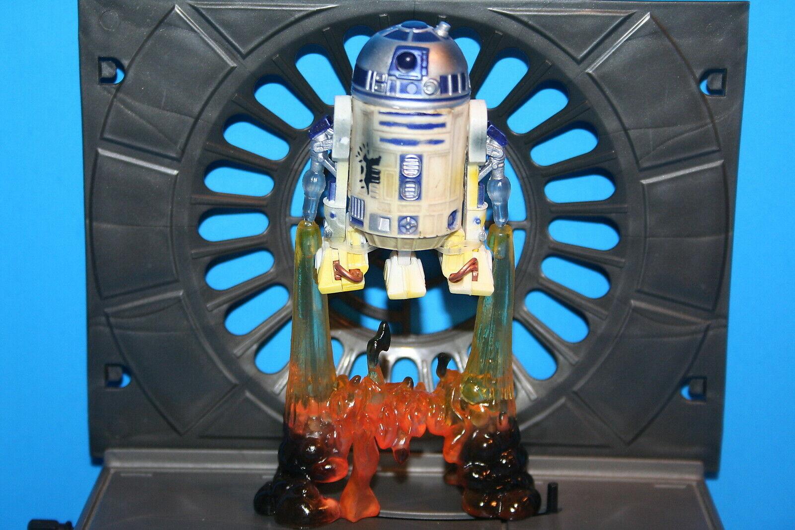 STAR WARS 07 TAC R2-D2 ROCKET STR8 FROM PACK FIGURE COMPLETE LS WEAPON HASBRO