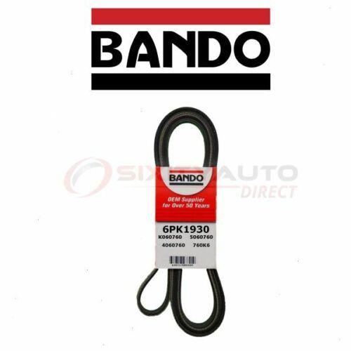 Bando Main Drive Serpentine Belt for 1997-2004 Porsche Boxster 2.7L 3.2L H6 vx
