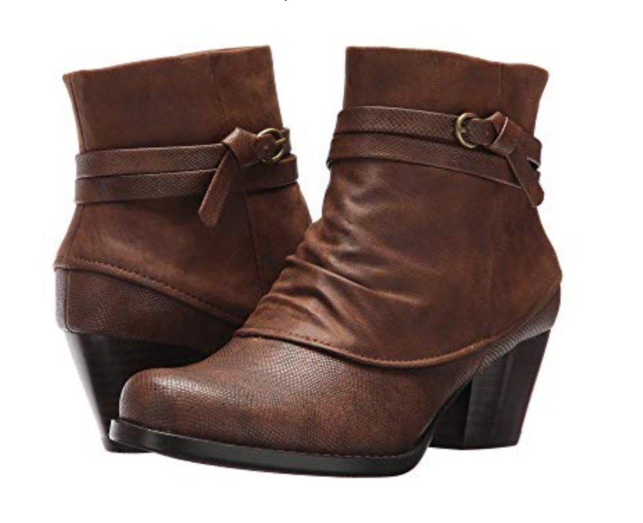 NEW BARE TRAPS BARETRAPS RAMBLER BROWN ANKLE BOOTS BOOTIES WOMENS 7.5