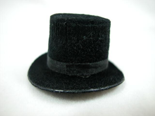 Heidi Ott  Dollhouse Miniature 1:12 Scale Men/'s TOP Hat  #XZ781S Black