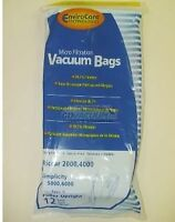 Carpet Pro Upright Cpu Vacuum Bags (12pk)