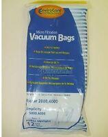 Carpet Pro Upright Cpu Vacuum Bags (12pk)