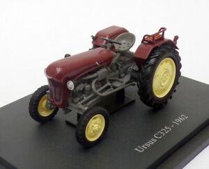 Hachette-Tractor-de-modelo-de-escala-1-43-HT027-1962-Ursus-C325-Marron
